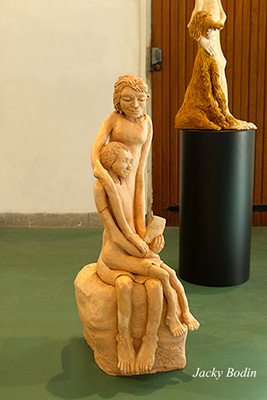 Sculpture d'Elise Jaulin