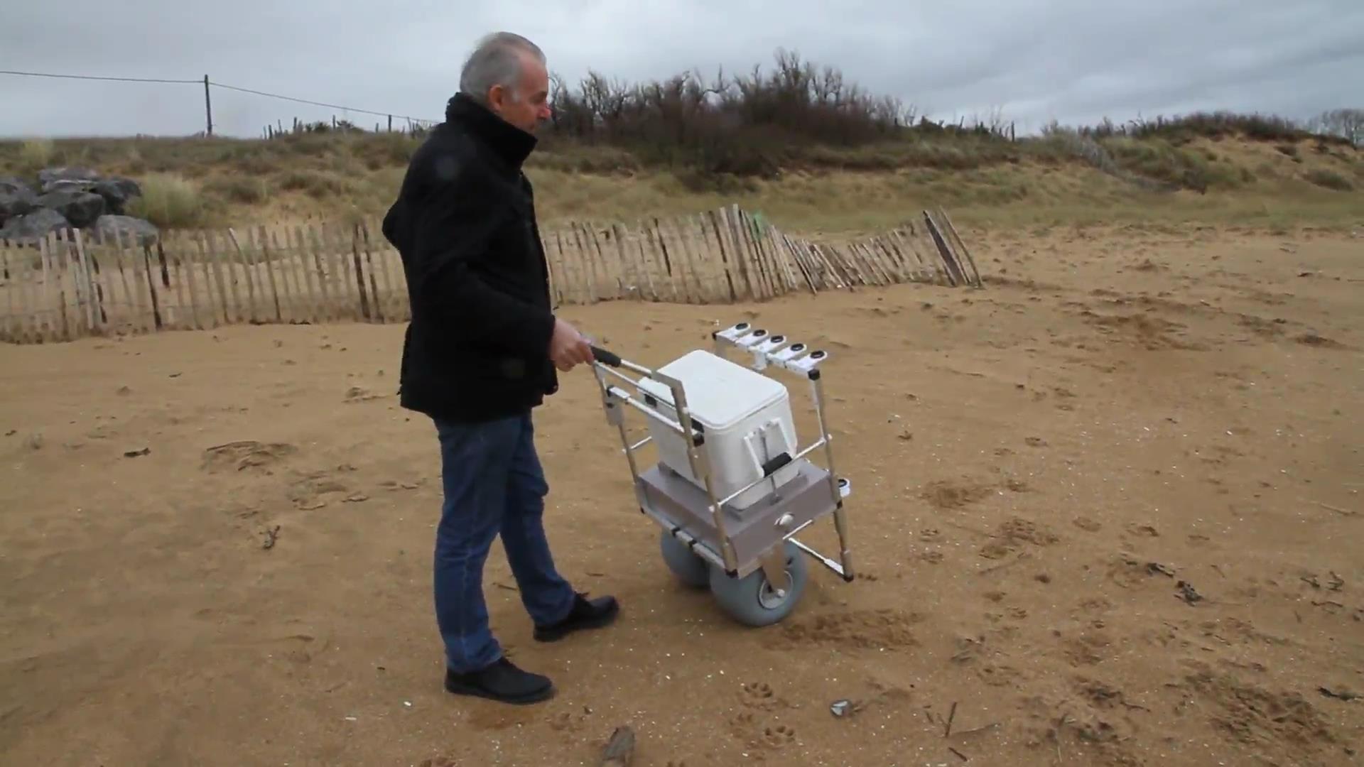 Vidéo Sur La Réalisation Dun Chariot De Surfcasting Peche