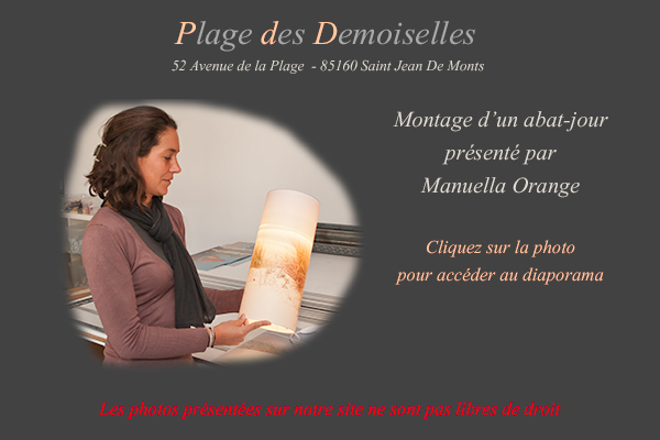 plage des demoiselles montage d 39 un abat jour luminaires. Black Bedroom Furniture Sets. Home Design Ideas